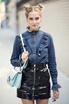 Chiara Ferragni seen in New York City