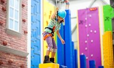 Groupon - Open Climbing for One or Two Children at Sender One Climbing SNA (Up to 38% Off)  in Sender One Climbing. Groupon deal price: $17.50