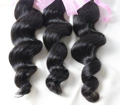 """StrongBeauty Human Hair Weave Extension Unprocessed Brazilian Virgin Hair Black Loose Wave 3 Bundle 100G/PCS (10 10 12). 100% Virgin real human hair. High Quality Can Be Dyed, Bleached, Curled, Straightened and Restyled as You Like. Package: 3 Bundles,100G Per bundles. Hair stretched length: 10"""",12"""",14"""",16"""",18"""",20"""",22"""",24"""",26"""",28"""",30""""inch in stock.if you need other combination,please contact us to customize."""