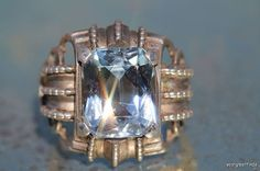 Vintage 1970's Sterling Silver & Genuine 5 Carat by Yourgreatfinds, $69.99