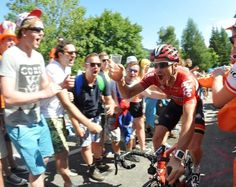 Adam Hansen deserves every mouthful of beer after completing another #tdf #cycling #bike #ride #explore #exercise