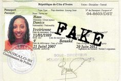 Fake documents used by scammers  Internet scam artists often use fake documents to promote their scams. The use of fake identification, certificates, and other documents lends credibility to their story and helps to convince you that they are telling the truth. When you believe the scammer's story, you are more likely to become a paying victim.