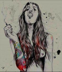 #tattoo #smoke #weed