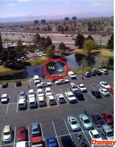 funny parking fails 21