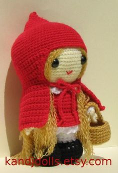 Red Riding Hood Amigurumi Crochet