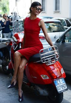 Spring '14 Paris Fashion Week Street-Style Photos by Tommy Ton - Giovanna Battaglia