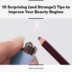 10 Surprising (and Strange!) Tips to Improve Your Beauty Regimen