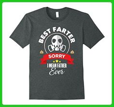 Mens Best Farter I Mean Father Ever - Father's Day T-Shirt Gift Large Dark Heather - Holiday and seasonal shirts (*Amazon Partner-Link)