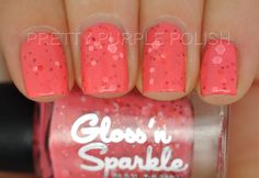Passion Pop  Nail Polish 12ml by GlossnSparkle on Etsy, $9.00