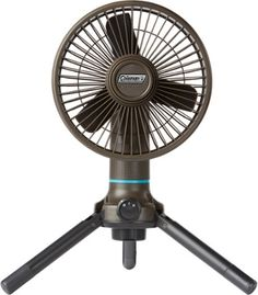 Keep cool outdoors with the Coleman OneSource multi-speed fan & rechargeable battery. Available at REI, Satisfaction Guaranteed. Tent Accessories, Portable Fan, Keep Cool, Wall Outlets, Wireless Speakers, Outdoor Gear, Outdoor Fans, Led Flashlight