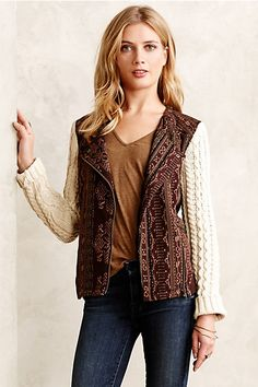Hazan Moto Jacket by Lilka $118 #anthropologie