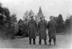 Members of the East Lothian 210 Auxiliary  Home Guard in 1942