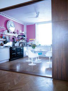 Sophie Conran's beautiful kitchen.
