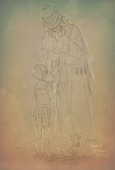 Little Ciel and Undertaker