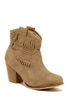 Blue Belle Ankle Bootie by Colors Of Fall: Must-Own Shoes on @HauteLook $50