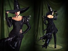 Wicked Witch of the West and Glinda the Good Witch Wizard of Oz Costumes