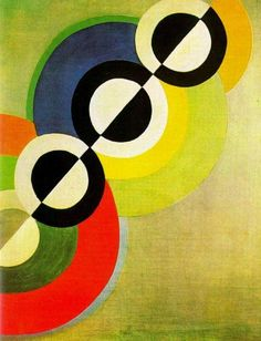 Painting by Robert Delaunay