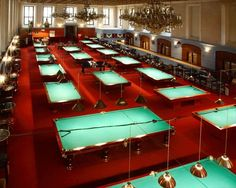 Billiard Centrum, Prague...amazing old ballroom with cobweb covered chandeliers...sooo much fun for a night out!
