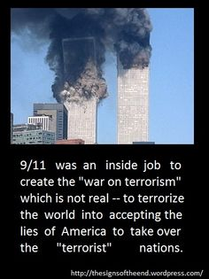 the 9/11 killed almost 3000 people... since then, america killed millions of people in iraq, pakistan, afghanistan and palestine... Whose the REAL terrorists?!