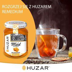 -60ml Imbirowej Brandy -Dwie torebki ziołowej herbaty imbirowo-cytrynowej -Dwie łyżeczki (lub więcej do smaku) miodu wielokwiatowego Huzar