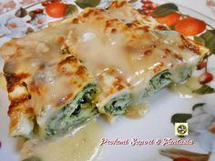 Cannelloni di ricotta e spinaci al forno   Blog Profumi Sapori & Fantasia