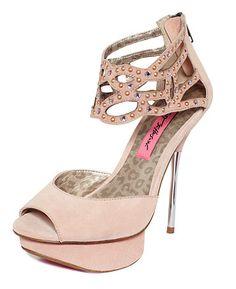 Betsey Johnson Shoes, Taalia Evening Platform Sandals   Web ID: 763997