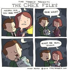 Time Trabble: Time Trabble - The Chex Files ... - thiS IS SO CUTE