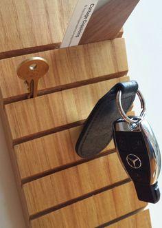 Sweet Chestnut key holder key holder key rack by CottageCoppicing