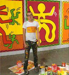 Keith Haring, 1981.