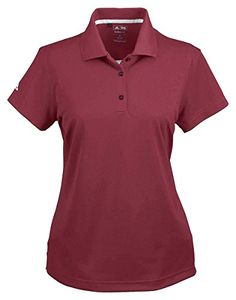 Women Golf Clothing *** Adidas Ladies Climalite Basic Polo Shirt Cardinal XXLarge >>> Make certain to have a look at this incredible item. (This is an affiliate link). Golf Shirts, Sports Shirts, Polo Tees, Discount Adidas, Basic Shorts, Golf Wear, Adidas Golf, Adidas Outfit, Branded Shirts