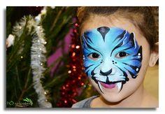 tigre bleu by l'Ô colorée