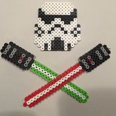 Star Wars perler beads by Mosh Jason Productions