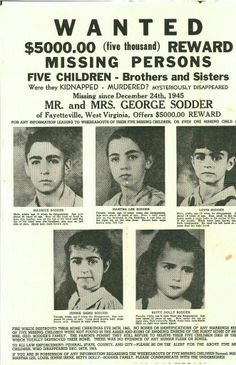 The Children Who Went Up In Smoke A tragic Christmas mystery remains unsolved more than 60 years after the disappearance of five young siblings West Virginia, West Va, Virginia Occidental, Tsar Nicolas, Missing Child, Missing Persons, Mystery Of History, History Mysteries, Up In Smoke