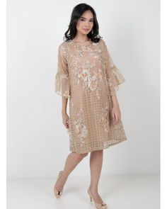 63 Ideas dress brokat lace simple for 2019 Dress Brukat, Kebaya Dress, Dress Pesta, The Dress, Dress Long, Dress Clothes, Trendy Dresses, Simple Dresses, Nice Dresses