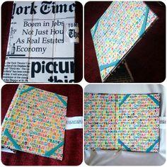 Capa para Tablet Letras  www.munayartes.com