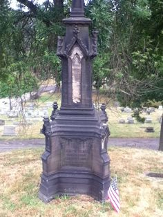 Ancestor Chase: Tombstone Tuesday: Old Tombstone on a Hill