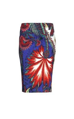 Knee length skirt - ROBERTO CAVALLI - 97% Viscose, 3% Elastane