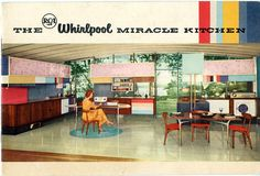 RCA Whirlpool Miracle Kitchen 1957
