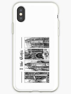 'I like gothic - ink graphic' iPhone Case by WearGraphics Like Me, Cathedral Architecture, Medieval Gothic, Iphone Cases, Gothic Metal, Ink, Germany, Stones, France