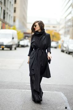 Long Hair Blogger New York City Winter Fashion