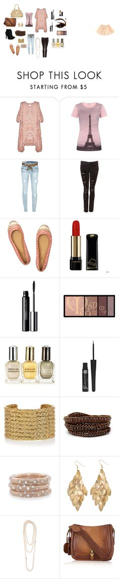 """Paris Classy Chic"" by tokita13 ❤ liked on Polyvore featuring Shakuhachi, Moschino Cheap & Chic, CYCLE, Chloé, Giambattista Valli, Lancôme, Clinique, Clé de Peau Beauté, Juicy Couture and Rimmel"