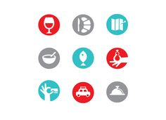 Icons for Monocle by Matt Lehman Studio. Art direction: James Melaugh, Jay Yeo, Emma Chiu
