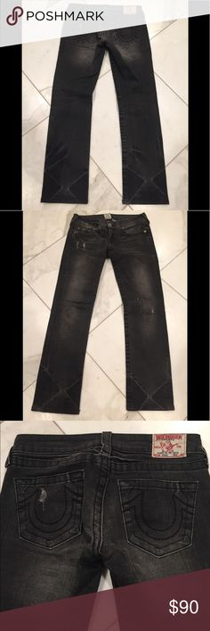 9b883ff22 Shop Women s True Religion Black size 27 Boot Cut at a discounted price at  Poshmark.