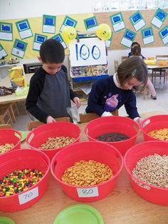 The Elisabeth Morrow School Blog: Celebrating 100 Days in Kindergarten!