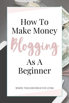 Did you know that you can make money blogging even without any experience? Yes, you read that right! In this article, I will be sharing with you some basic tips on how you can monetize your blog as a beginner blogger! #blogtips #makemoneyblogging #blogmonetization