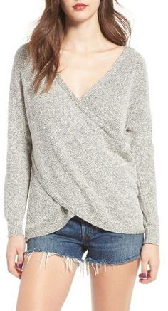 Women's Lira Clothing Lunar Surplice Sweater