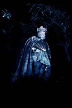 Being haunted by a king--familiar to a certain character in Shadow on the Crown. . .