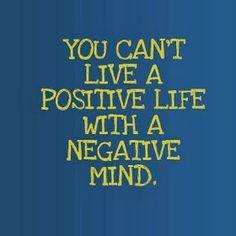SUNRISE TAEKWONDO AND FITNESS KICKBOXING: Say NO to Negative!