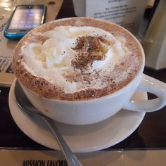 Mexican Hot Chocolate @ The Mission