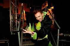 Simon Wegrzyn, who plays villain Fleshcreep in this year's pantomime Jack and…